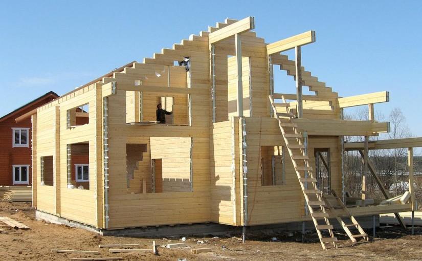 Строительство коттеджей из дерева. Преимущества